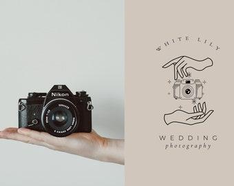 Premade Logo Design, Photography Logo