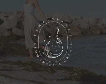 Moon logo premade