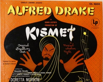 Kismet -Alfred Drake & Original Broadway Cast 1966 (  LP, Album, Vinyl Record) Musical