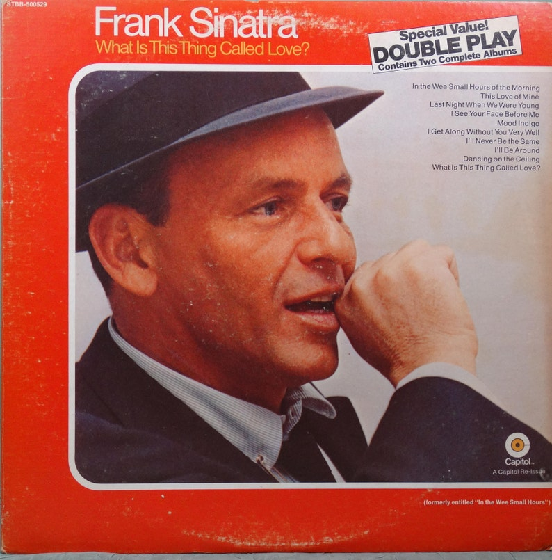 3224da45 Frank Sinatra What Is This Thing Called Love The Night We | Etsy