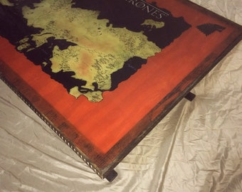 Game of Thrones themed coffee table