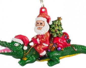 Alligator ornament | Etsy