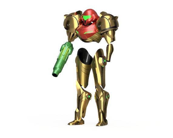 Metroid Prime Varia Suit 3d Models