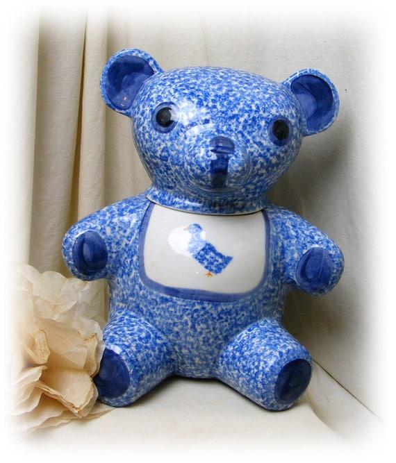 Adorable Teddy Bear COOKIE JAR