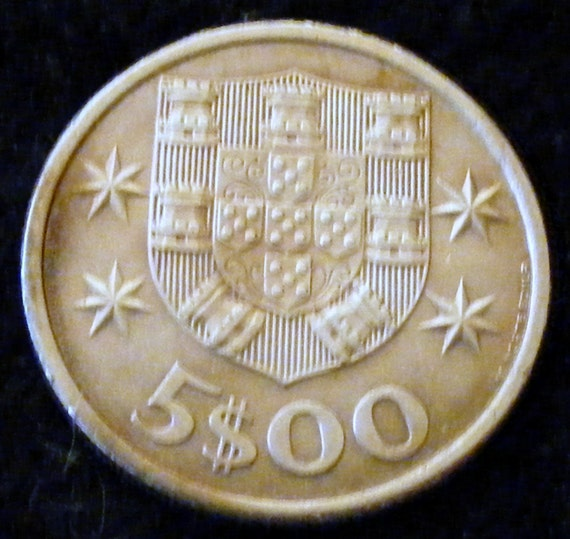 1964 REPUBLICA PORTUGUES COIN . . Great Investment . .