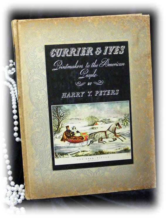 CURRIER & IVES Hardback Book