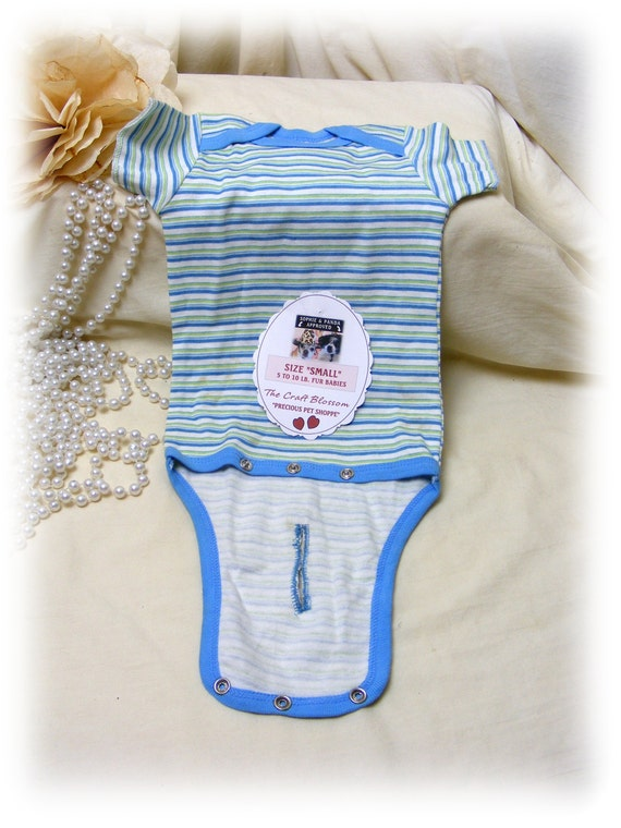 """Boy Fur Baby (SMALL) """"ONESIE"""" . . From Baby Clothes . . . (Custom Clothes Orders Welcome)"""