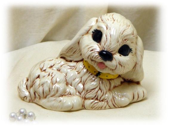 VINTAGE COCKER SPANIEL . . . Adorable  Puppy