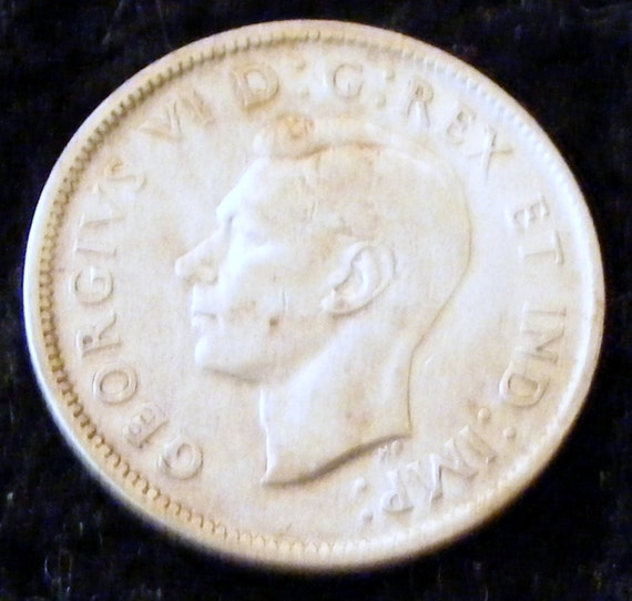 1943 CANADIAN 25 CENT Piece . . Great Investment . .