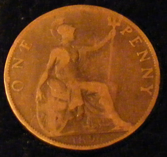 Large ONE PENNY COIN . . Great Investment . .