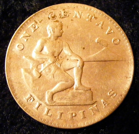 1944 ONE CENTAVOS . . Great Investment . .