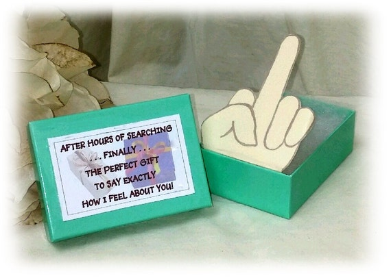 HYSTERICAL PERFECT GIFT . . great gag gift for sooo many people!