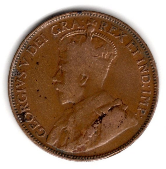 1920 CANADA ONE CENT