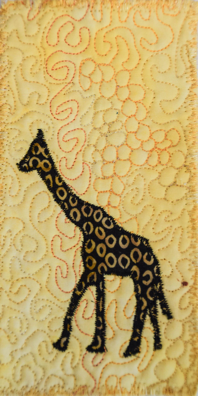 Fiber Art Wall Hanging Art Quilt fiber art Miniature home | Etsy