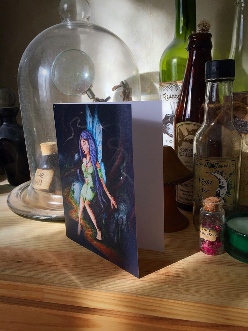 Faerie Greeting Card