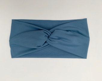 Steel Blue Turban