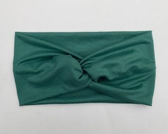 Willow Green Turban