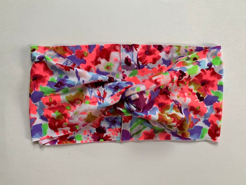 Summer Floral Turban image 0