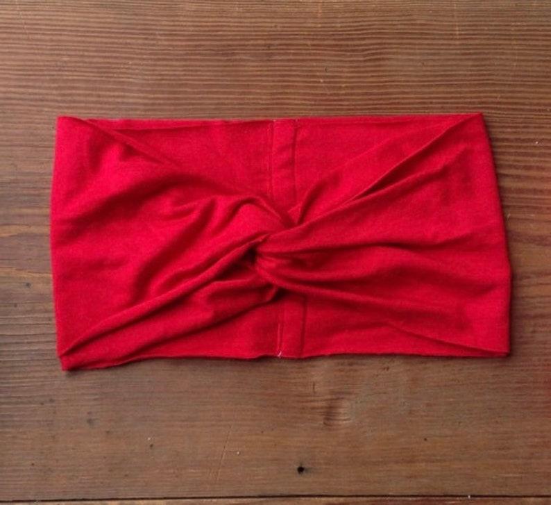 Baby/Toddler Red Turban image 0