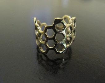 Brass Toe Ring adjustable or upper finger ring, brass ring for dreadlocks