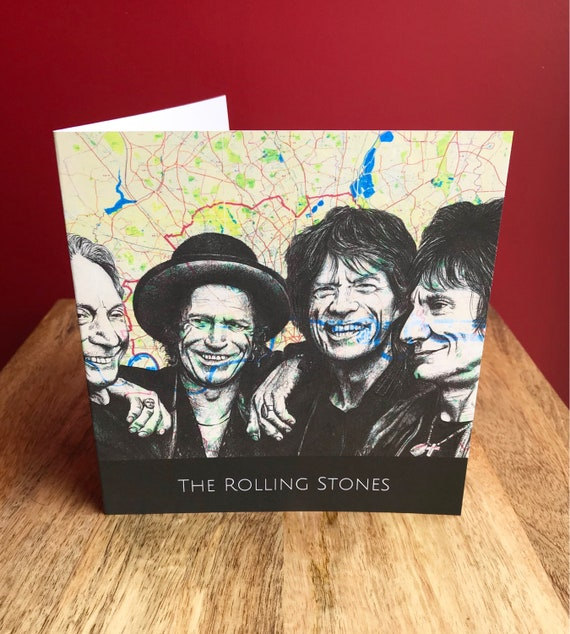 The Rolling Stones Birthday Anniversary Fathers Day Etsy