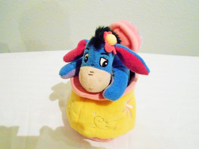 Bean Bags Neu Disney Store Winnie The Pooh 8  Mini Sitzsack  Winter Pulli  Plüsch
