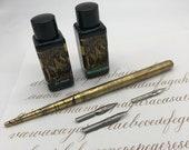 Basic Calligraphy Kit + Modern Calligraphy Worksheets