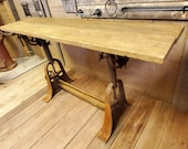 The Draughtsman Table - Vintage Industrial, Antique Iron
