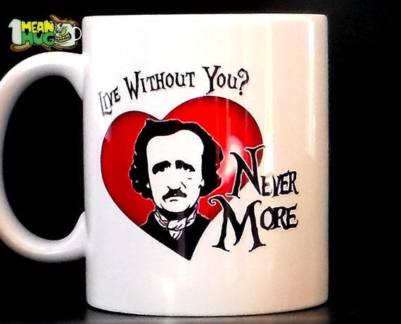 Taza Nevermore Raven 11ozEdgar Allan Poe Inspired