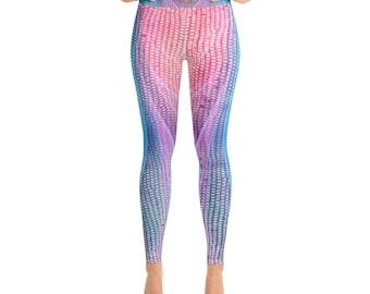 87b087e0a80 Mermaid Leggings Women