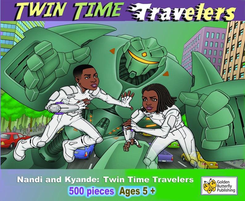 Nandi and Kyande: Time Traveler Puzzle image 0