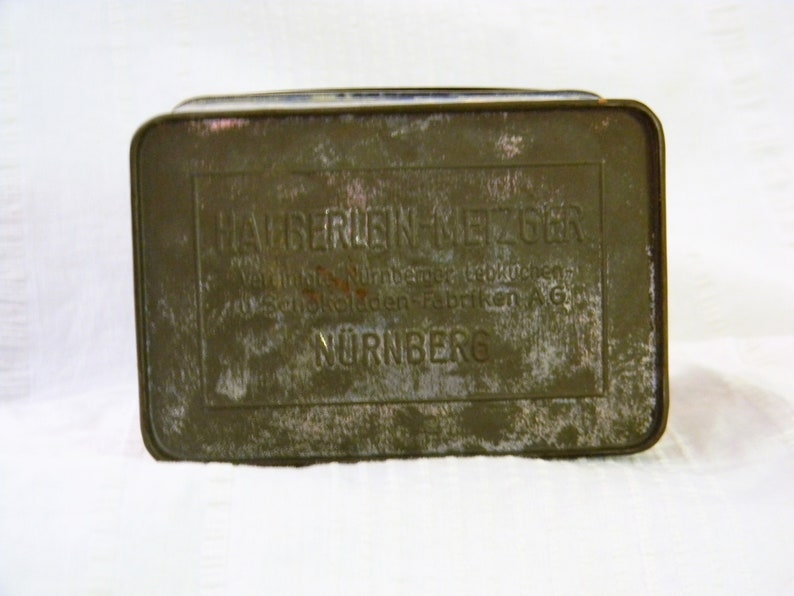 Vintage Haeberlein-Metzger Tin