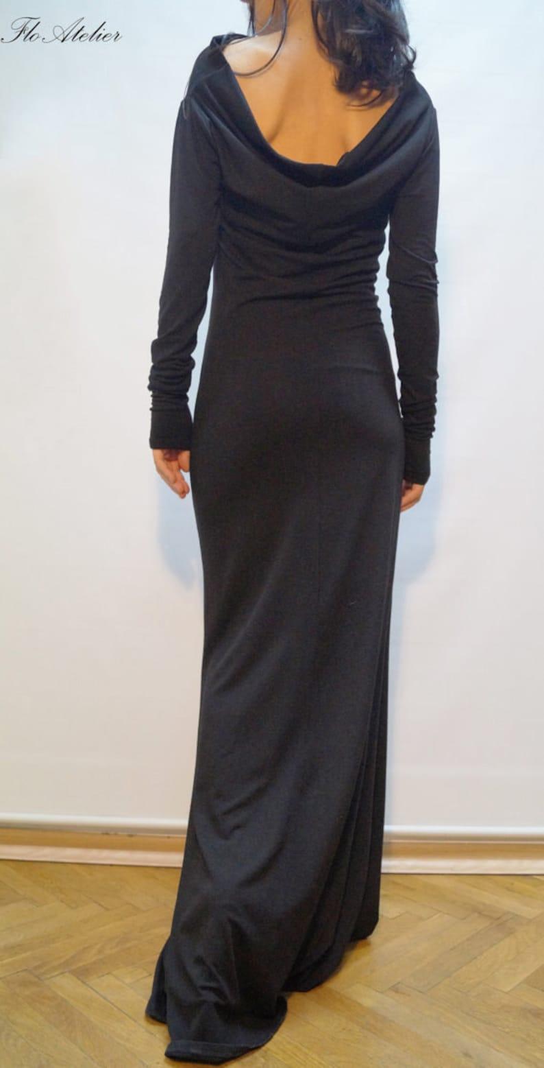 314c0cb62e7527 Lange Ärmel Maxi Kleid/Casual Abend elegante Kleid / Sexy | Etsy
