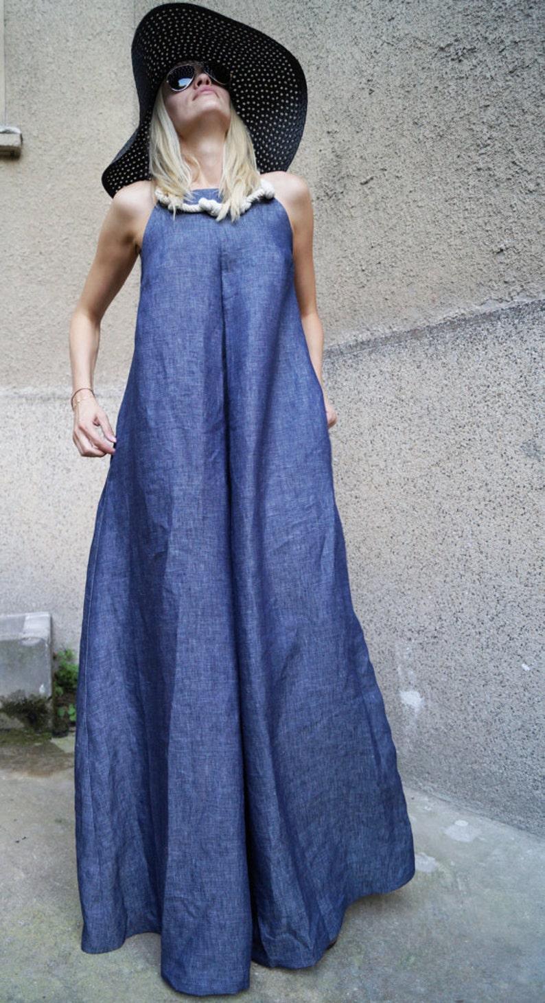 368d4dd54f XXL XXXL Dress Floor length dress Summer Dress Linen