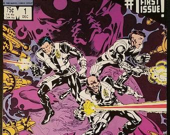Strikeforce: Morituri #1-3 (1986-1987) Comic Books