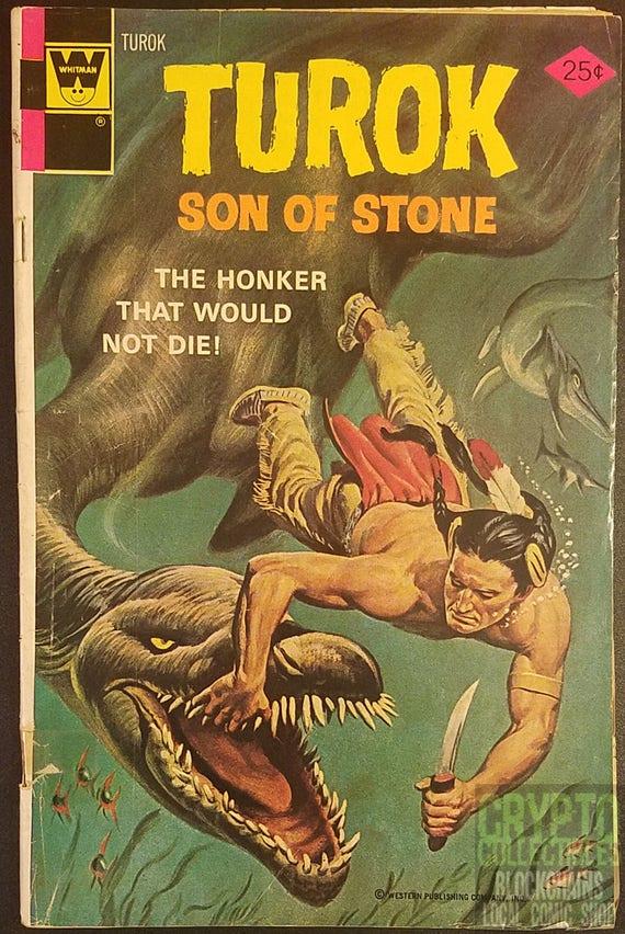 Turok Son Of Stone 95 1975 Comic Book Etsy