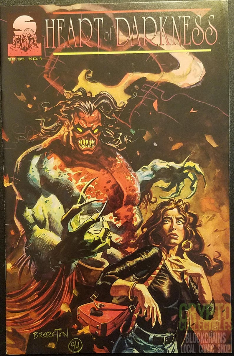 Heart Of Darkness 1 1994 Comic Book Etsy