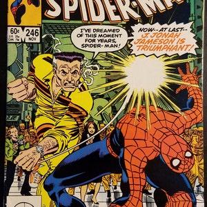Amazing Spider-Man #203 FN 1980 Stock Image