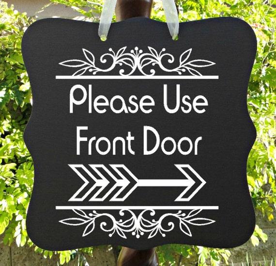Front Door Sign, Home Decor, Welcome Sign, Door Hanger