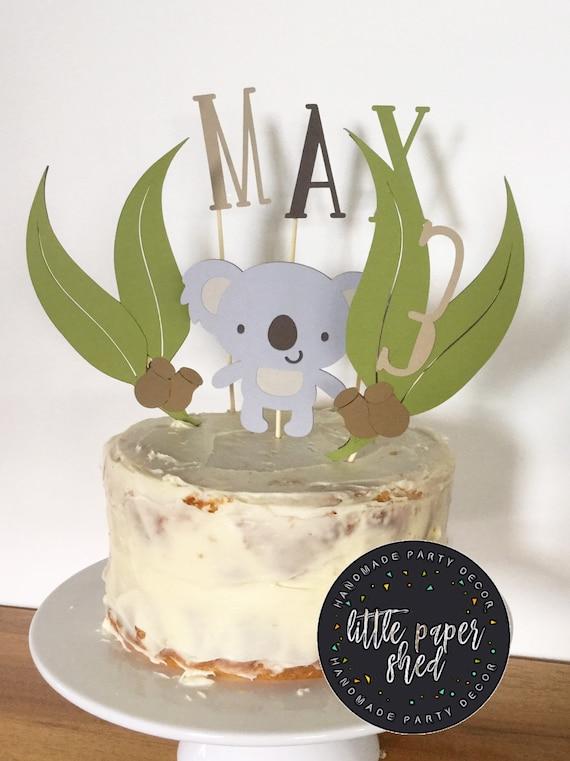 Fake cake Ready To Ship Koala Cake party decor prop cake