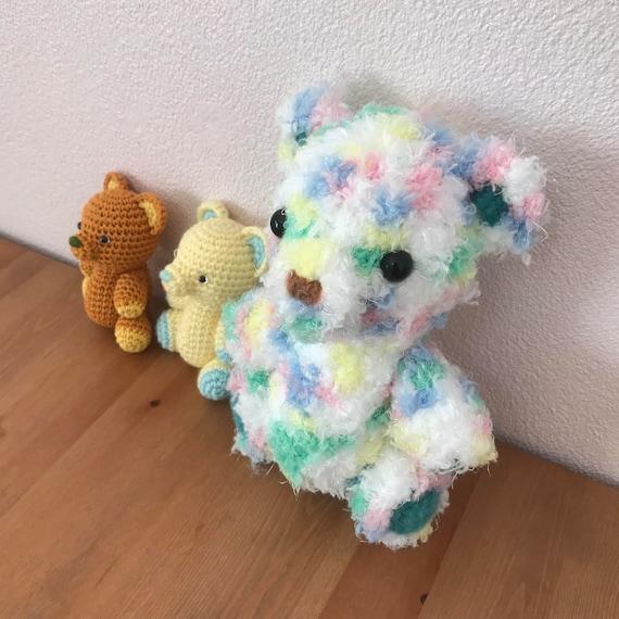 Teddy Bear 02 Amigurumi Teddy Bear Pattern Crochet Teddy Etsy