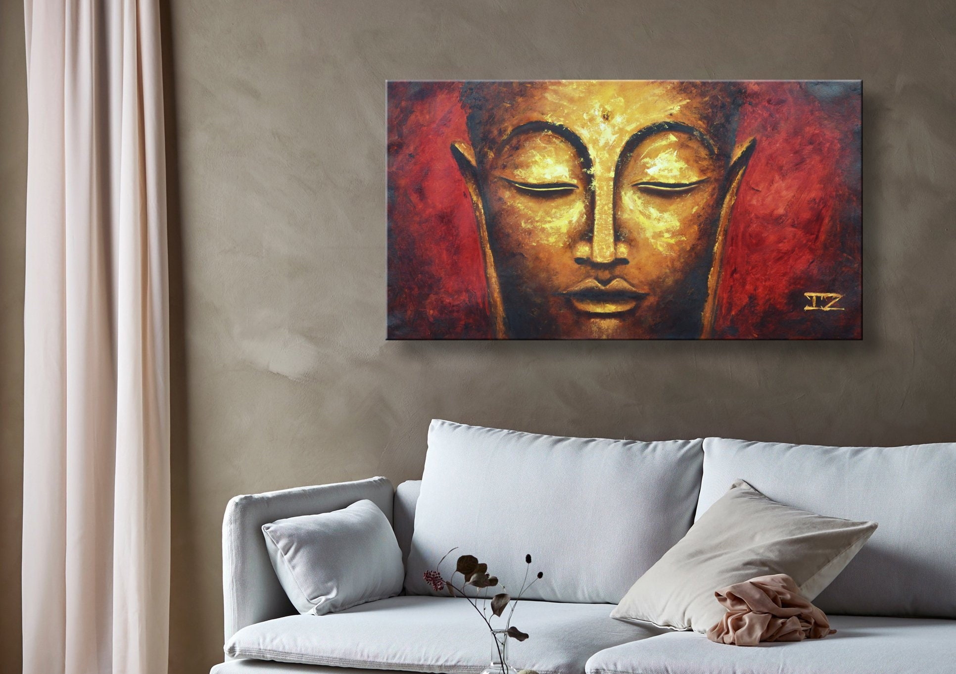 Oil painting modern art magical buddha canvas art paintings on canvas wall art painting abstract painting wall painting art