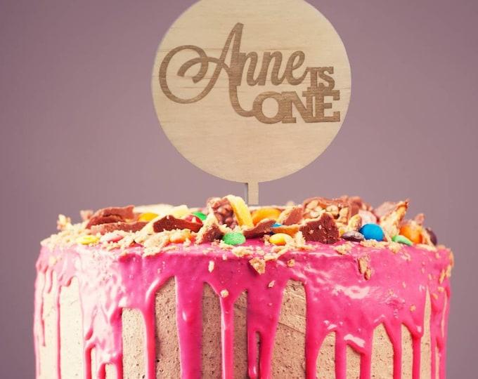 Birthday Cake Topper - Customise cake topper