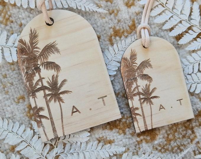 Luggage tags. Ladies Gift Ideas. Set of 2