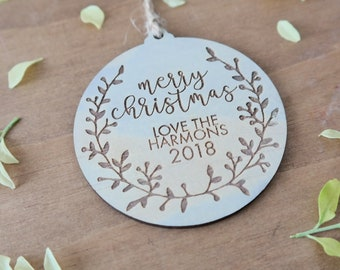 Personalised Christmas decorations. Family gifts.