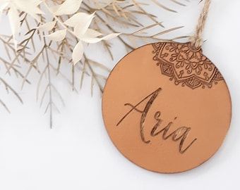 Copper Custom Christmas decorations. Christmas baubles.