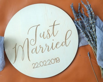 Elopement Sign - Elopement announcement.