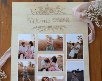 Photo Board. Milestone Board. Photo frame