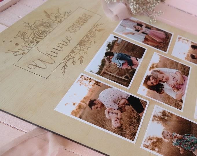 Photo Board. Milestone Board. Photo frame