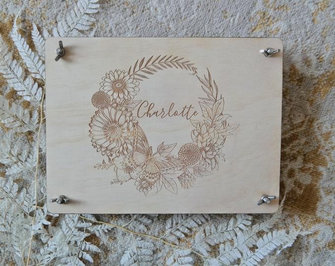 Flower Press - Customised Flower Press - Gift